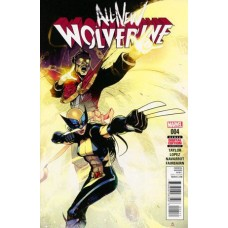 All-New Wolverine # 4A Bengal Regular Cover