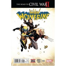 All-New Wolverine # 9A Regular Bengal Cover
