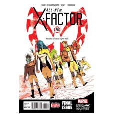 All-New X-Factor # 20A Regular Kris Anka Cover