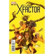 All-New X-Factor # 20B Variant Cover