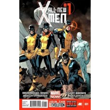 All-New X-Men, Vol. 1 # 1A Regular Stuart Immonen Cover