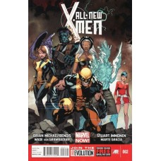 All-New X-Men, Vol. 1 # 2A Regular Stuart Immonen Cover