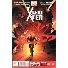 All-New X-Men, Vol. 1 # 3A Regular Stuart Immonen Cover