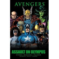 Avengers: Assault on Olympus #HC-A