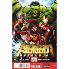 Avengers Assemble, Vol. 2 (2012) #10A