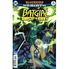Batgirl And The Birds Of Prey #10A