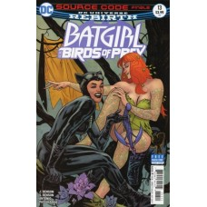 Batgirl And The Birds Of Prey #13A