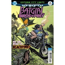 Batgirl And The Birds Of Prey #14A