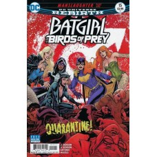 Batgirl And The Birds Of Prey #15A