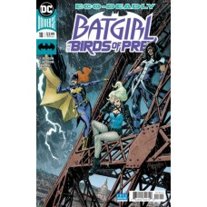 Batgirl And The Birds Of Prey #18A