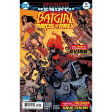 Batgirl And The Birds Of Prey #16A
