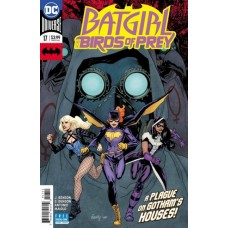 Batgirl And The Birds Of Prey #17A