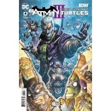 Batman / Teenage Mutant Ninja Turtles III #4A