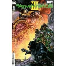 Batman / Teenage Mutant Ninja Turtles III #3A