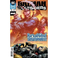 Batman and the Outsiders, Vol. 3 #10A