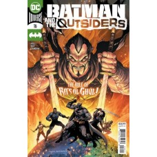 Batman and the Outsiders, Vol. 3 #16A