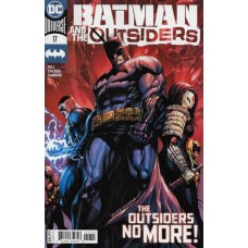Batman and the Outsiders, Vol. 3 #17A