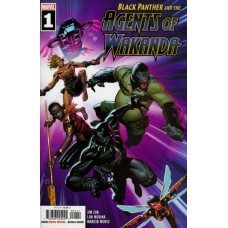 Black Panther and the Agents of Wakanda #1A