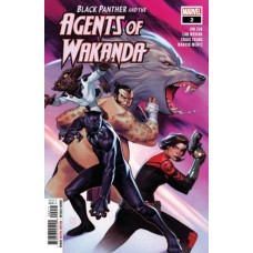 Black Panther and the Agents of Wakanda #2A