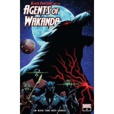 Black Panther and the Agents of Wakanda #4A