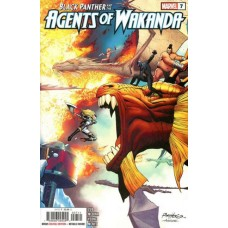Black Panther and the Agents of Wakanda #7A
