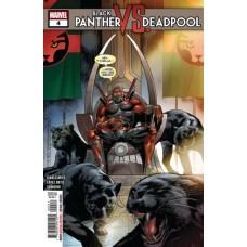 Black Panther vs. Deadpool #4A