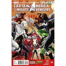 Captain America & The Mighty Avengers #3A