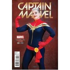 Captain Marvel, Vol. 10 #1B