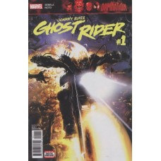 Damnation: Johnny Blaze - Ghost Rider #1A