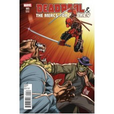 Deadpool & the Mercs For Money, Vol. 1 #5C