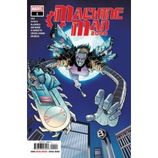 2020 Machine Man # 1A Regular Nick Roche Cover