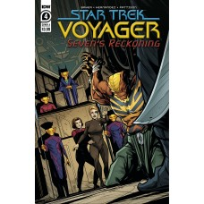 STAR TREK VOYAGER SEVENS RECKONING #4 (OF 4) CVR A  HERNANDE (02/10/2021)