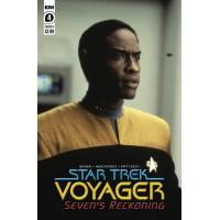 STAR TREK VOYAGER SEVENS RECKONING #4 (OF 4) CVR B PHOTO (02/10/2021)