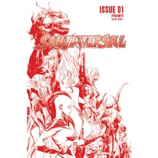 SONJAVERSAL #1 LEE LTD CRIMSON LINE ART CVR (02/03/2021)
