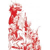 SONJAVERSAL #1 LEE LTD BLOOD RED LINE ART VIRGIN CVR (02/03/2021)