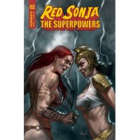 RED SONJA THE SUPERPOWERS #2 CVR A PARRILLO (02/10/2021)