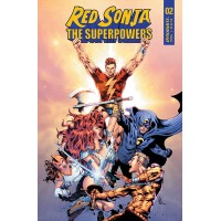 RED SONJA THE SUPERPOWERS #2 CVR C LAU (02/10/2021)