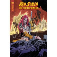 RED SONJA THE SUPERPOWERS #2 CVR D FEDERICI (02/10/2021)
