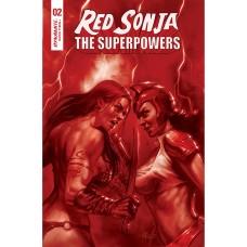 RED SONJA THE SUPERPOWERS #2 PARRILLO CRIMSON RED ART CVR (02/10/2021)