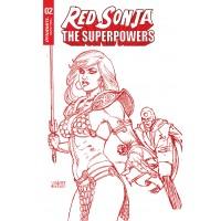 RED SONJA THE SUPERPOWERS #2 LINSNER CRIMSON RED ART CVR (02/10/2021)