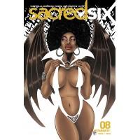 SACRED SIX #8 CVR E HAESER (02/17/2021)