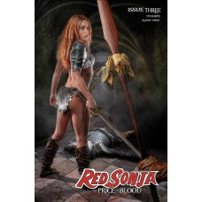 RED SONJA PRICE OF BLOOD #3 CVR E RAY COSPLAY (02/17/2021)