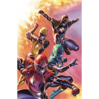 MIGHTY MORPHIN POWER RANGERS #45 SHOWCASE VARIANT (02/24/2021)