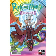 RICK AND MORTY WORLDS APART #1 CVR A FLEECS (02/03/2021)
