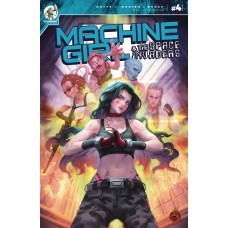 MACHINE GIRL & SPACE INVADERS #4 (MR) (02/17/2021)
