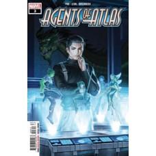 Agents of Atlas, Vol. 3 # 3A Regular Junggeun Yoon Cover